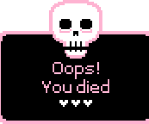 skull, pink, and kawaii image