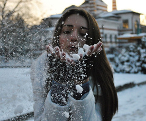 cold, girl, and winter image