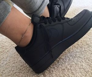 black, nike, and fashion image