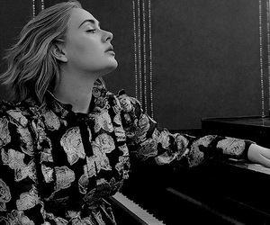 Adele, vogue, and singer image