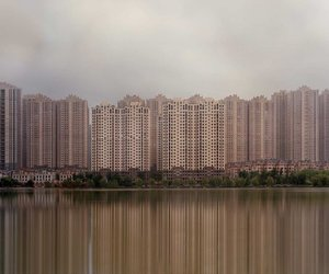 abandoned, buildings, and china image