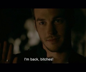 d, the vampire diaries, and chris wood image