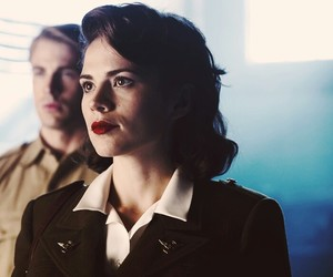 agent carter and marge peggy carter image