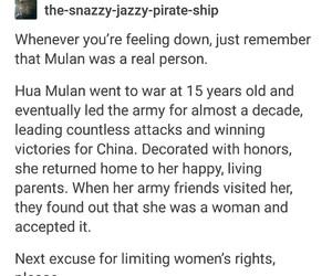 feminism, mulan, and true image