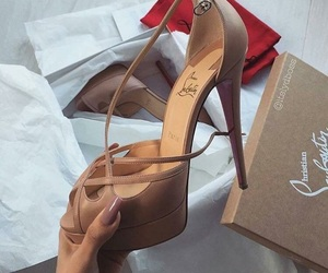 christian louboutin, classy, and nails image