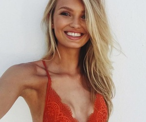 girl, romee strijd, and model image