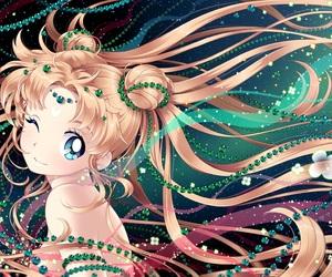 anime, sailor moon, and princes serenity image