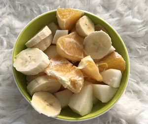 bananas, fit, and fitness image