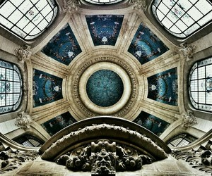 architecture, blue, and art image