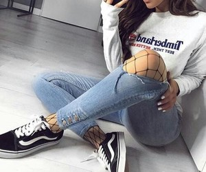 fashion, vans, and clothes image