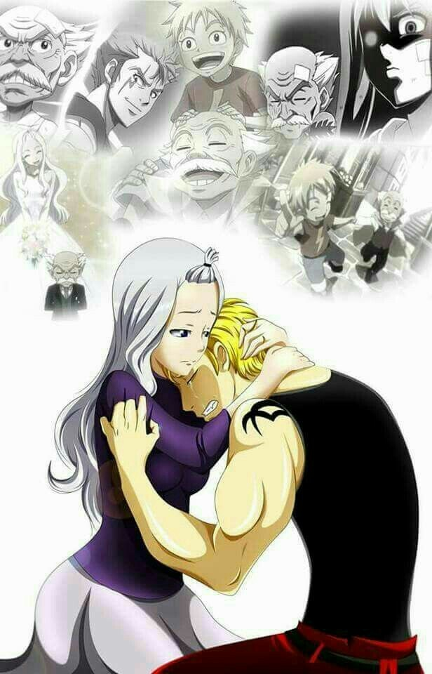 Mirajane And Laxus Discovered By Lucy Heartfilia Una poesia anche per te artist: mirajane and laxus discovered by