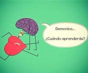 amor, corazon, and cerebro image