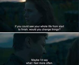 arrival, change, and movie image