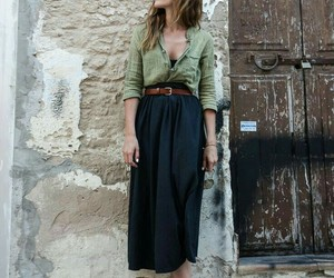 boho, clothes, and fashion image