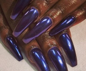beauty, chrome, and nails image