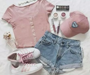 fashion, ❤, and pink image