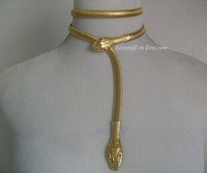 etsy, ornate snake belts, and double snake belts image