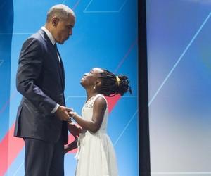barack obama, michelle obama, and president image