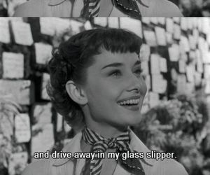 audrey hepburn, quotes, and roman holiday image