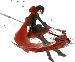 ruby, ruby rose, and rwby image