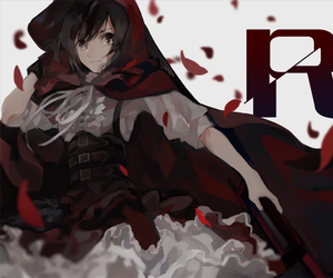 ruby rose, rwby, and ruby image