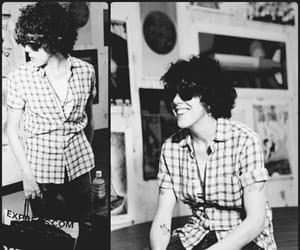 black, black&white, and famous image