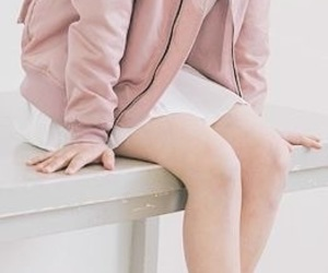 bench, legs, and light pink image