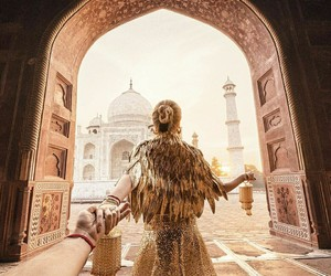 couple, love, and india image