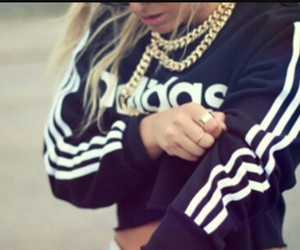 adidas, girl, and swag image