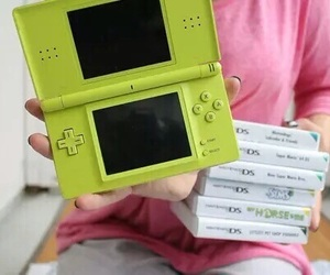game, green, and ds image