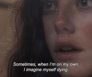 girl, me, and sad image