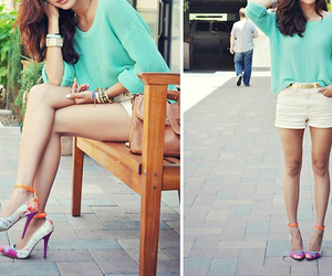 blouse, chic, and elegant image