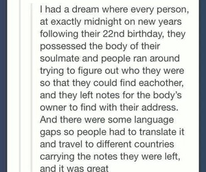 soulmate, book, and Dream image
