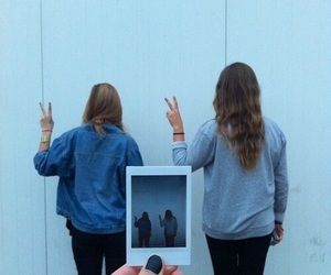 grunge, friends, and hipster image