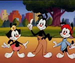 animaniacs, looney tunes, and cartoon character image
