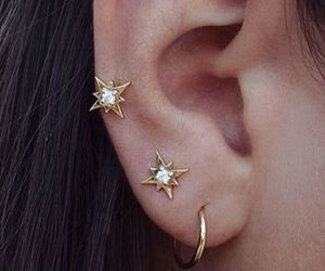gold, jewelry, and cute image