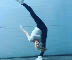 ballerina, ballet, and blue image