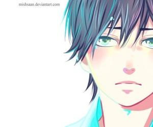manga, orange, and manga boy image