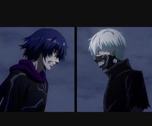 anime, ghoul, and kaneki ken image