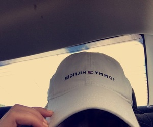 hat and tommy hilfiger image