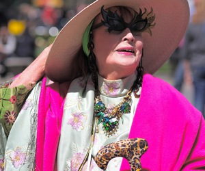 eccentric, pink, and advanced style image