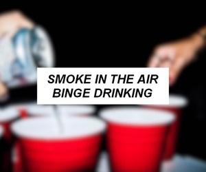 air, alcohol, and cigarette image