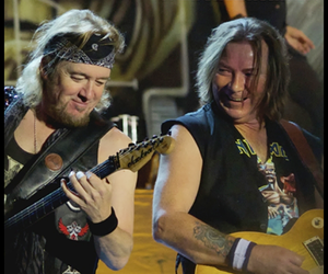 Adrian Smith, iron maiden, and Dave Murray image