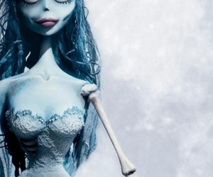 corpse bride, emily, and helena bonham carter image