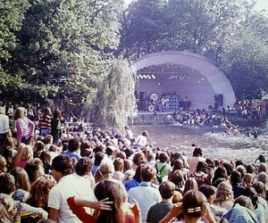concert, vintage, and music image