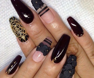 3d, nailart, and fullcover image