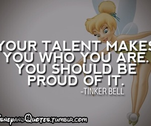 disney, quote, and tinkerbell image