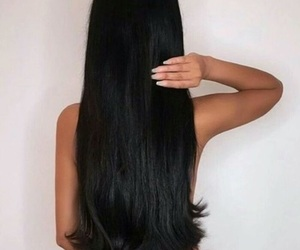 hair and long hair image