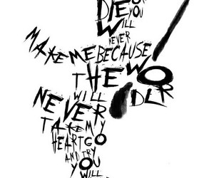 black & white, Lyrics, and mcr image