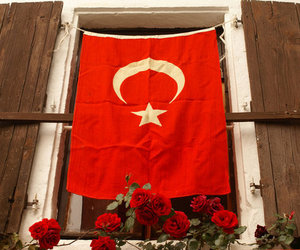 turkey, turkiye, and turkish flag image
